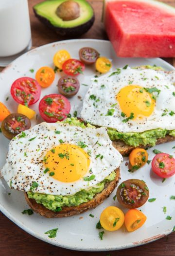 Avocado Toast Fried Egg