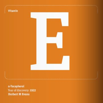 Vitamin E founded by Herbert M Evans