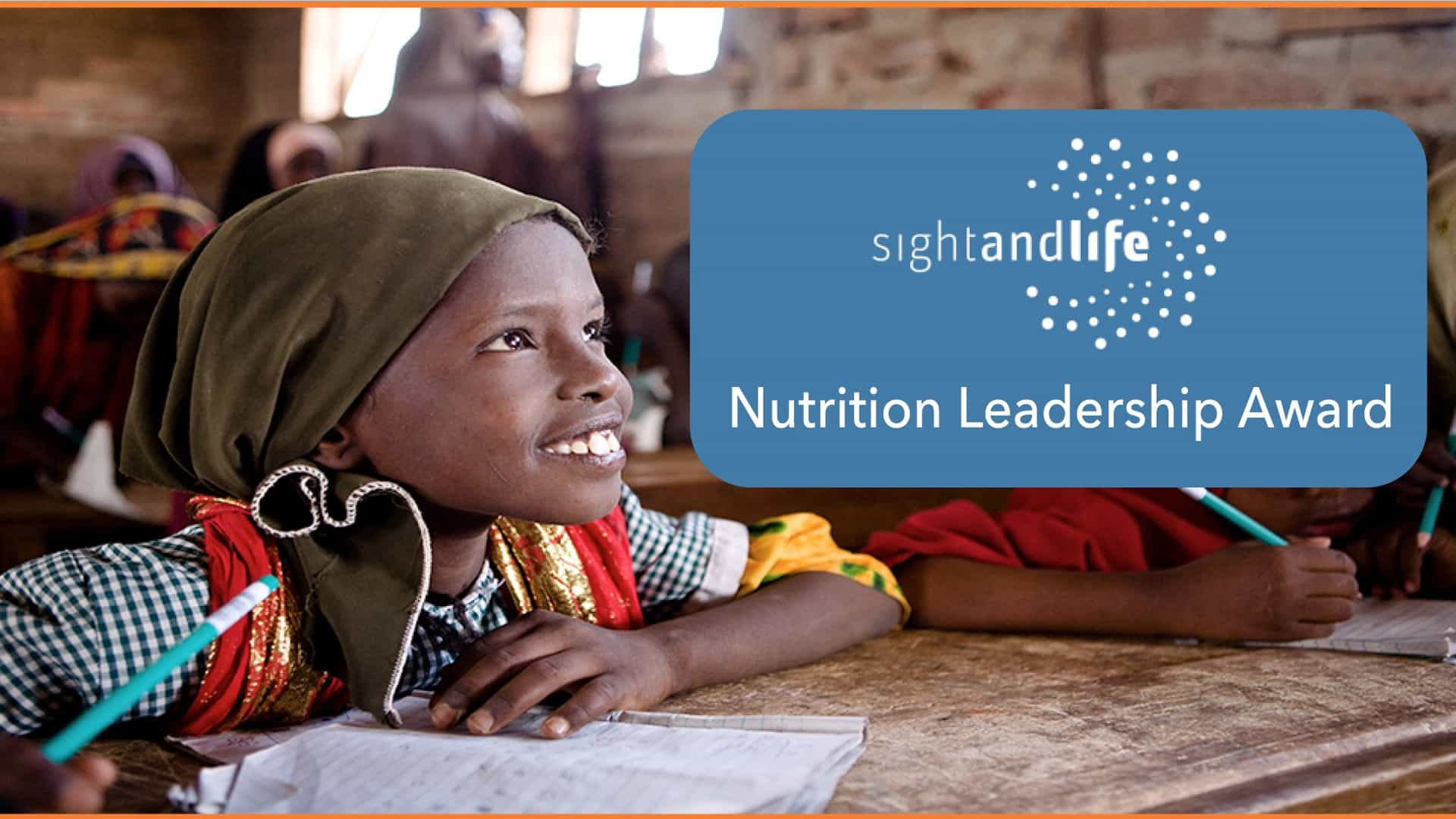2017 Sight Life Nutrition Leadership Award