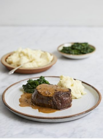Steak, Jamie Oliver, recipe, nourish notes