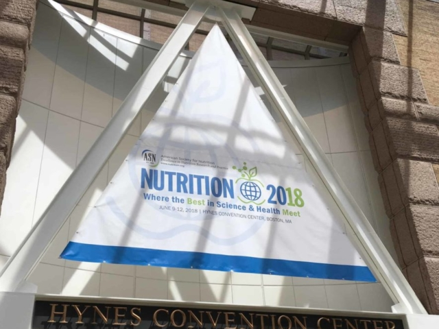 ASN, Nutrition2018, conference, Bosotn