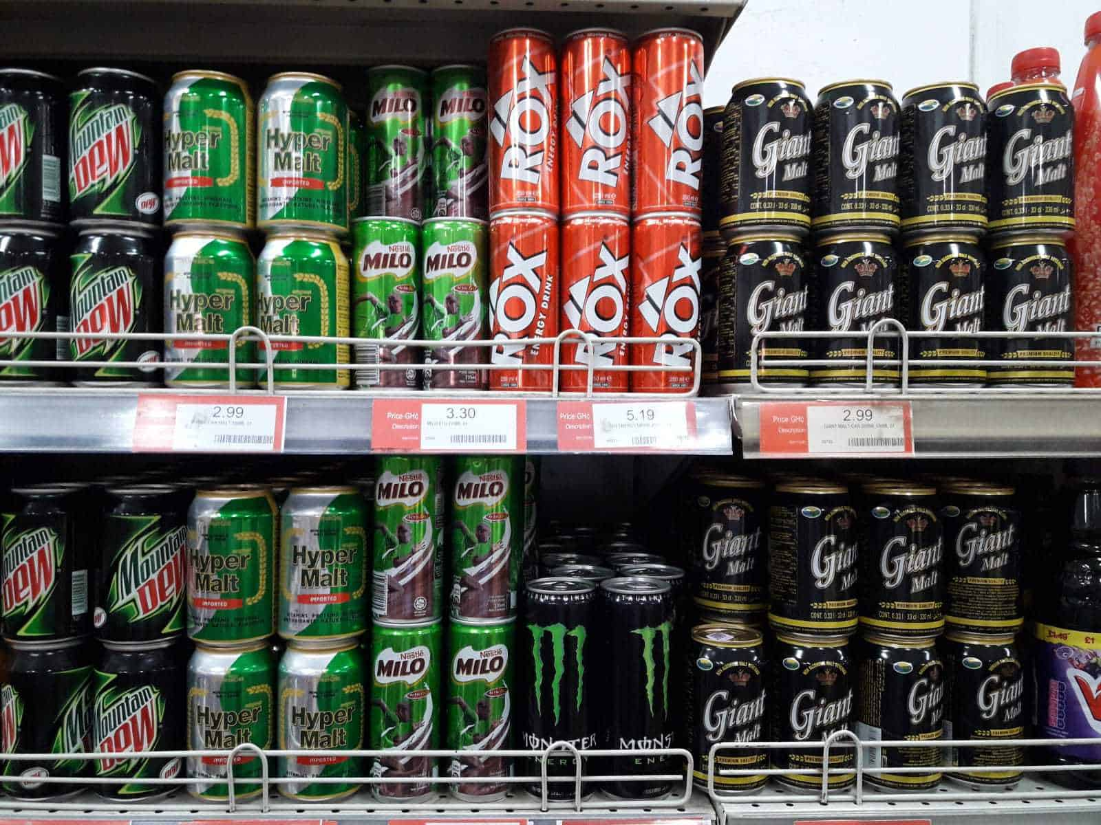 Beverage Industry, energy drinks