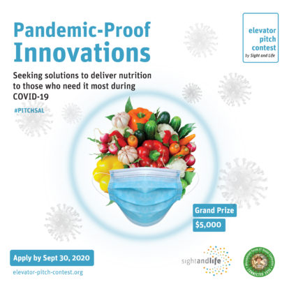 Elevator Pitch Contest Pandemic Proff Innovations