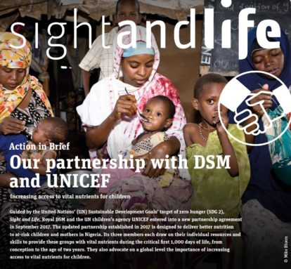 Sight and Life, UNICEF, DSM, PPP, Partnership, Nigeria, MMS, MNP